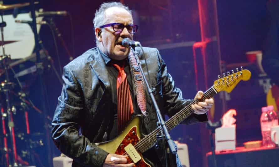 Elvis Costello at the Hammersmith Apollo in March 2020.