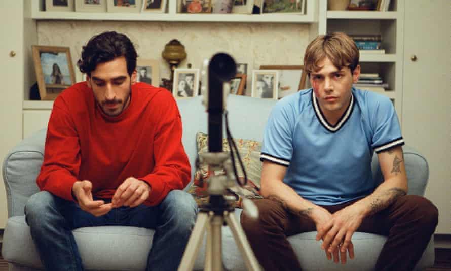 Edge of the seat stuff … Gabriel D'Almeida Freitas and Xavier Dolan.