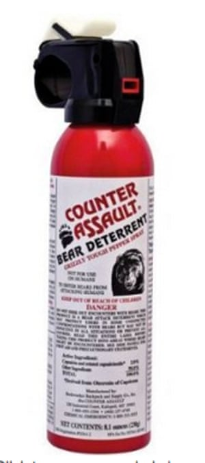 Pepper spray illegally offered for sale on Amazon
