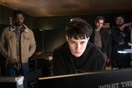 Stanfield with Claire Foy in The Girl in the Spider's Web.