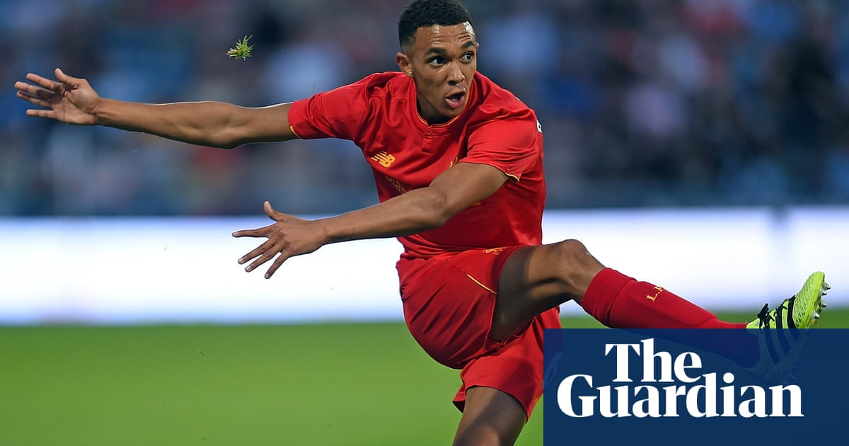 'He'd go off sulking': the story behind Trent Alexander-Arnold's rise