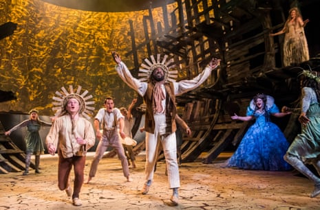 Doran invests the shipwrecked courtiers with unusual human detail … The Tempest