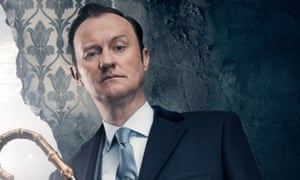 Mark Gatiss took exception to a Guardian article that complained his Holmes was 'morphing into Bond'.