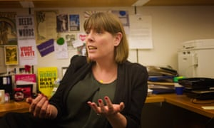 Labour MP and challenger for the leadership of the Party, Jess Phillips.