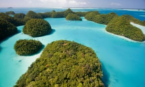 The tiny Pacific island nation of Palau created one of the world's largest marine sanctuaries, saying it wanted to restore the ocean for future generations.