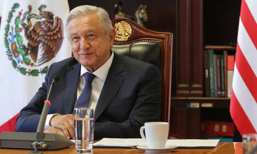 President Andrés Manuel López Obrador said of US funding for the civil society organisations: 'It's interference, it's interventionism, it's promoting coup plotters.'
