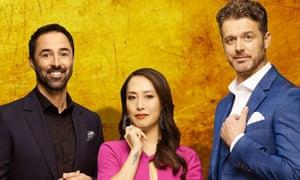 MasterChef Australia's new judges: Andy Allen, Melissa Leong and Jock Zonfrillo.
