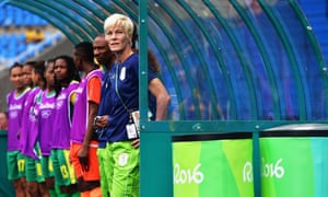 Vera Pauw coached South Africa during the 2016 Olympics in Brazil before moving on to take charge of Houston Dash.
