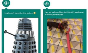 Two Captionbot images. Neither great.