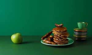 Apple Pancakes - Classic cookery books - Margaret Costa's - Four Seasons Cookery Book