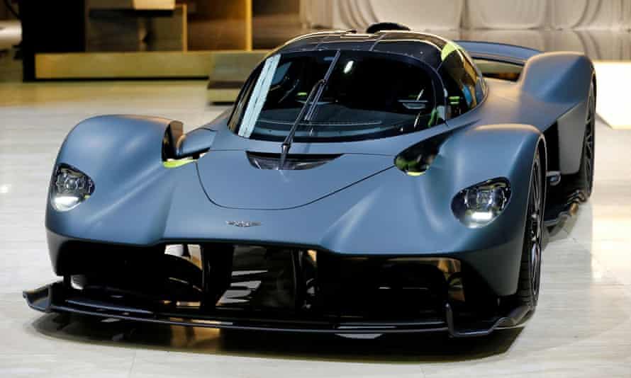 Aston Martin Valkyrie at the 89th Geneva International Motor Show