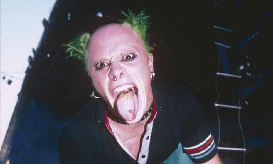 A maniacal jester ... Keith Flint.