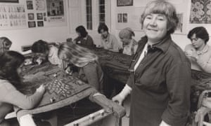 Karen Finch founded the Textile Conservation Centre at Hampton Court palace, west London, in 1975