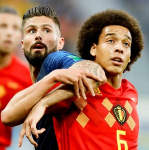 Aexl Witsel excelled at the World Cup with Belgium