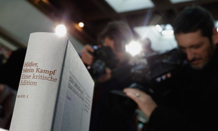 'Ideological poison' … copies of Adolf Hitler's Mein Kampf: Eine kritische Edition are displayed prior to the launch on 8 January.