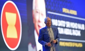 Malaysia''s Prime Minister Najib Razak speaks at a gala dinner in Kuala Lumpur. Critics claim he is seizing unprecedented power in the country.