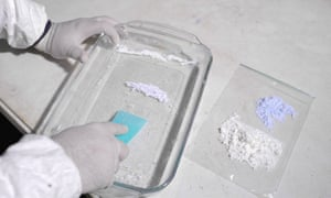 Fentanyl is a synthetic opioid analgesic like morphine, but cheaper and far more potent.