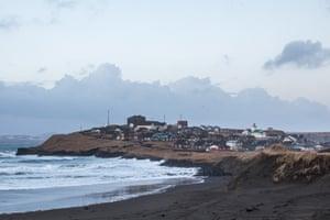 The community of Saint Paul on Saint Paul Island.