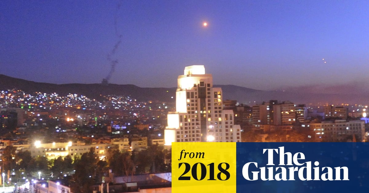 Syria: US, UK and France launch strikes in response to
