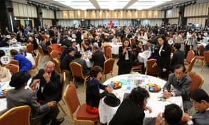Nearly 400 elderly and frail Koreans attended the tearful and emotionally fraught reunion with family members they haven't seen for 60 years