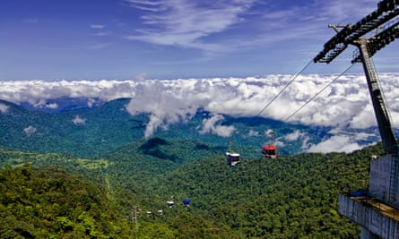 SkywayMalaysia, Genting highland, Overhead cable car