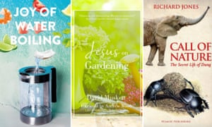 Odd bunch … three of the shortlisted books