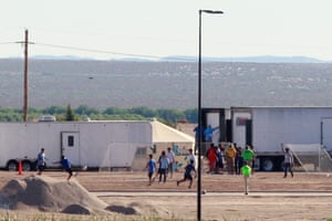 Tornillo, Texas Children of detained migrants