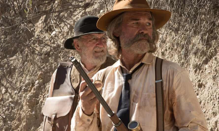 Richard Jenkins and Kurt Russell in Bone Tomahawk.