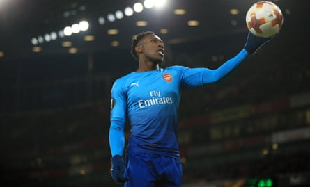 Danny Welbeck has gone 10 games without a goal for Arsenal.