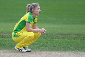 A dejected Nicola Carey.