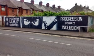 UVF graffiti in Carrickfergus