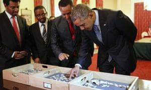 Obama Lucy Ethiopia