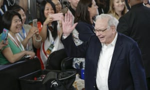 US billionaire Warren Buffett