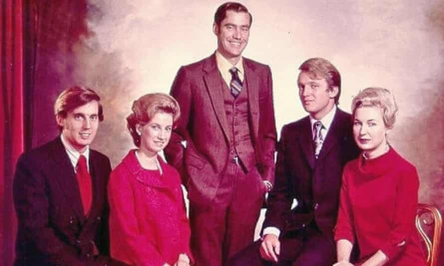 The Trump siblings (from left): Robert, Elizabeth, Fred Jr, Donald and Maryanne
