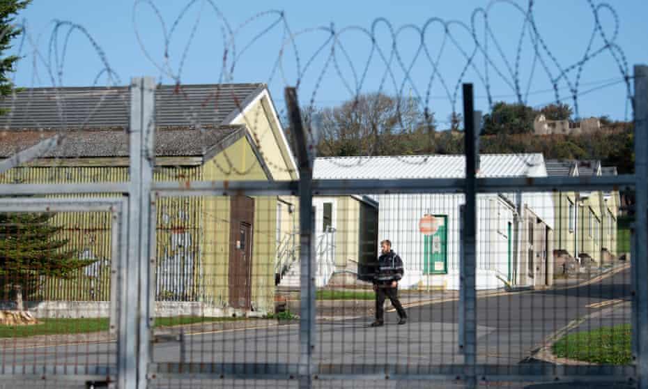 Penally barracks in Pembrokeshire
