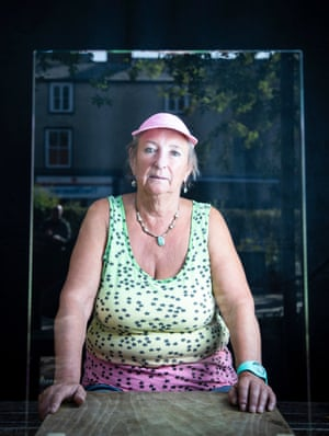 Strength and Resilience is a series of portraits by Fran Monks of the women involved with the Gatehouse Project; a drop in cafe and community centre for the homeless and vulnerably housed in Oxford