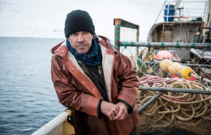 'Wind-chilled and angsted': Dennis Quaid in the second series of Fortitude.