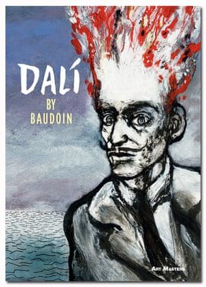 Dali comic book cover