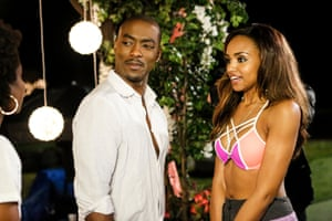 BJ Britt and Meagan Tandy: a contestant and a putative wifey.