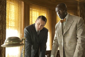 Williams was lauded for his performance as Chalky White in the series Boardwalk Empire, set in Prohibition Era in the US. He is pictured here in its third series, which aired in 2012