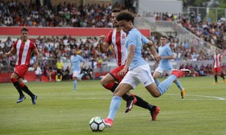 Leroy Sane playing against Girona last week.