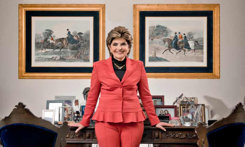 Gloria Allred in her office in Los Angeles.