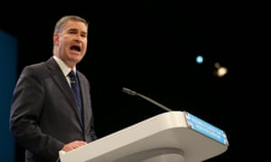 David Gauke at the Tory party conference