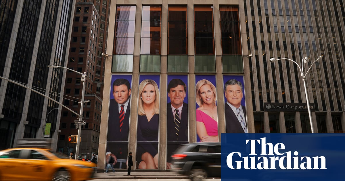 Dominion Voting Systems sues Fox News for $1.6bn over election fraud lies