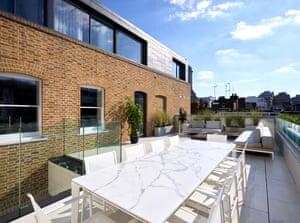 roof terrace Covent Garden