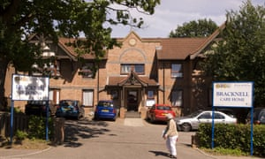 Bracknell care home, operated by Four Seasons.