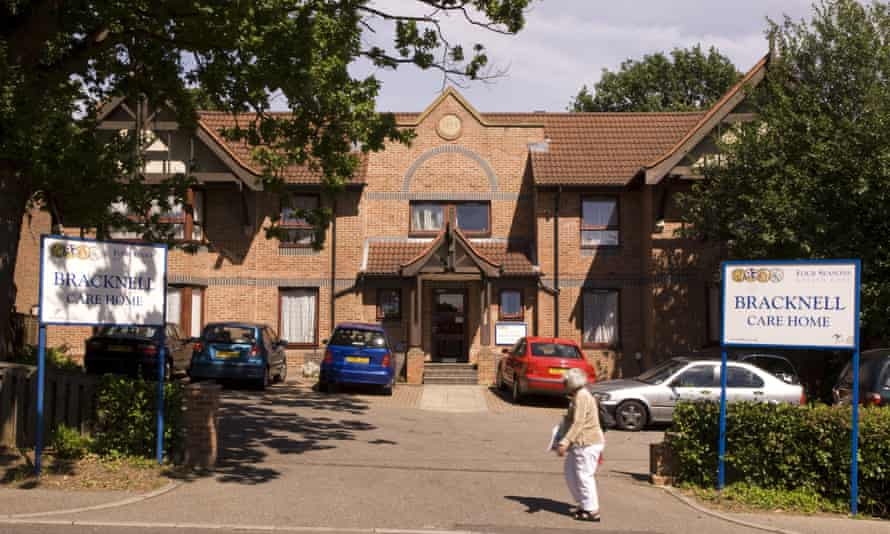 A Four Seasons care home in Bracknell.
