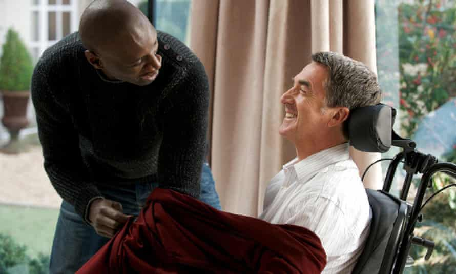 'My life, everything I'm living, in a professional way, has come from this movie': The Intouchables, 2011, with François Cluzet.