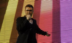 George Michael … bestowing pop star power on the masses.