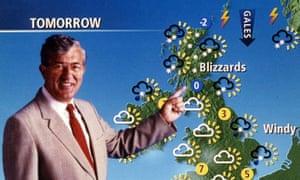 BBC weatherman Bill Giles in 1999.